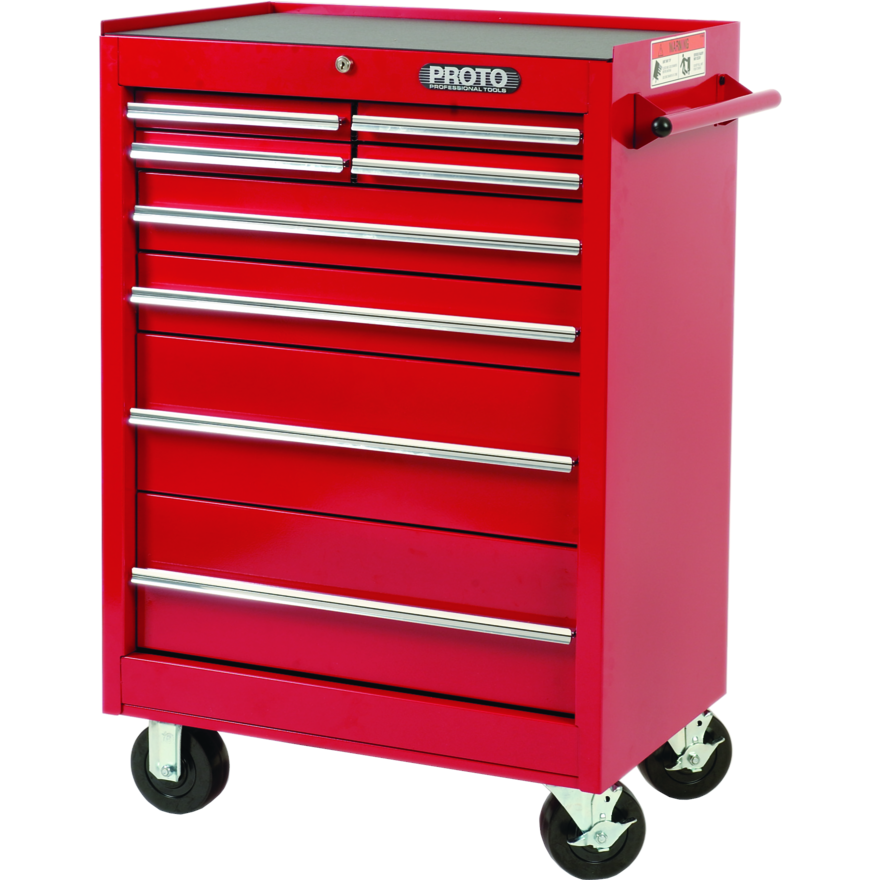 Proto 272 piece master set with roller cabinet j442742 for Roller sideboard